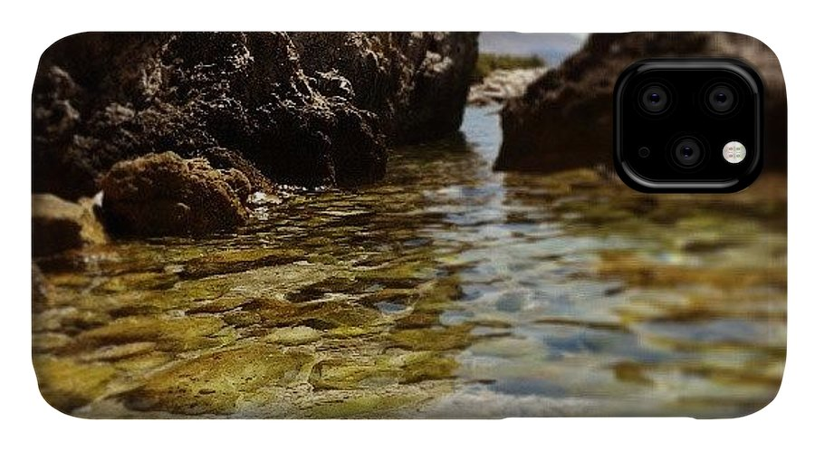 Love IPhone Case featuring the photograph Mlini - Croazia by Emanuela Carratoni