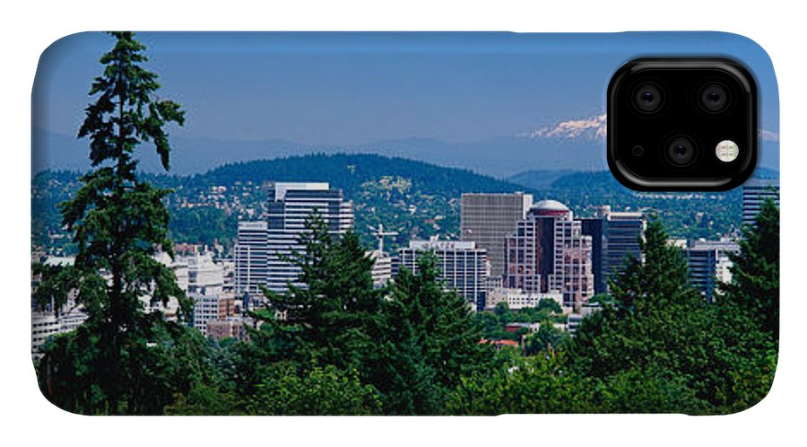 Photography IPhone Case featuring the photograph Mt Hood Portland Oregon Usa by Panoramic Images