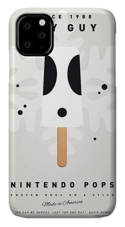 1 Up IPhone Case featuring the digital art My Nintendo Ice Pop - Shy Guy by Chungkong Art