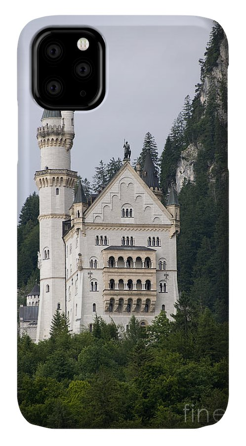 Architecture IPhone Case featuring the photograph Neuschwanstein Castle by Richard Patrick