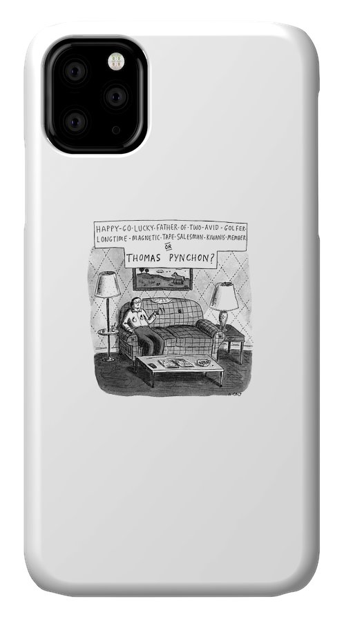 New Yorker December 25th, 1995 IPhone Case