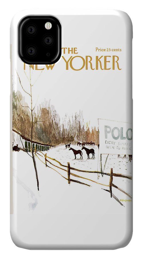 New Yorker January 6th, 1962 IPhone Case