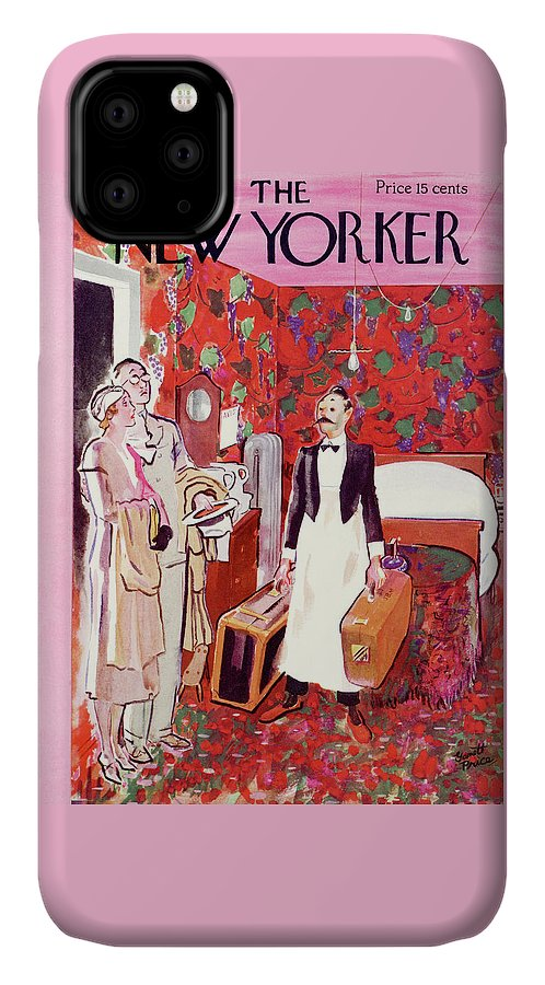 Hotel IPhone Case featuring the painting New Yorker July 15th, 1933 by Garrett Price