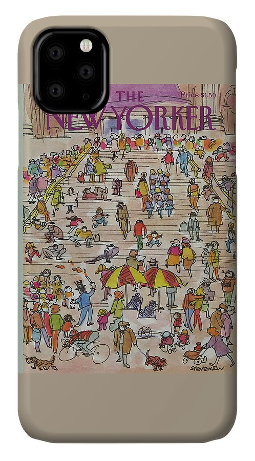 New Yorker May 21st, 1984 IPhone Case