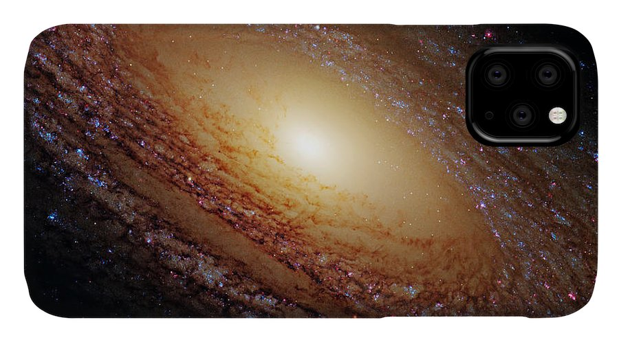 Outer IPhone Case featuring the photograph Ngc 2841 by Ricky Barnard