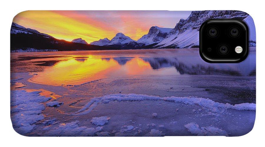 IPhone Case featuring the photograph November Freeze 2 by Dan Jurak