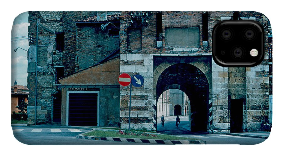 Vicenza IPhone Case featuring the photograph Old City Gate Vicenza 1962 by Cumberland Warden