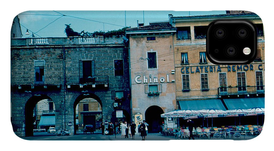 Vicenza IPhone Case featuring the photograph Old City Gate Vicenza 2 1962 by Cumberland Warden