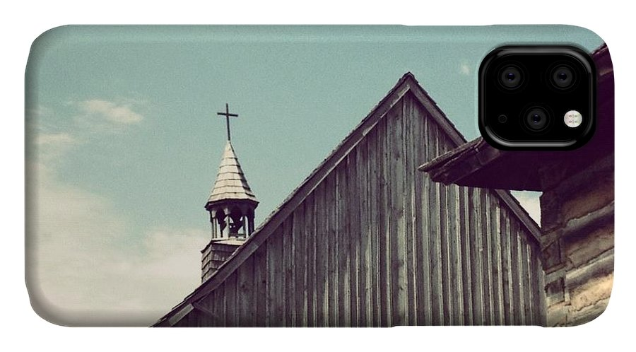 Church IPhone Case featuring the photograph Old Time Religion by Christy Beckwith