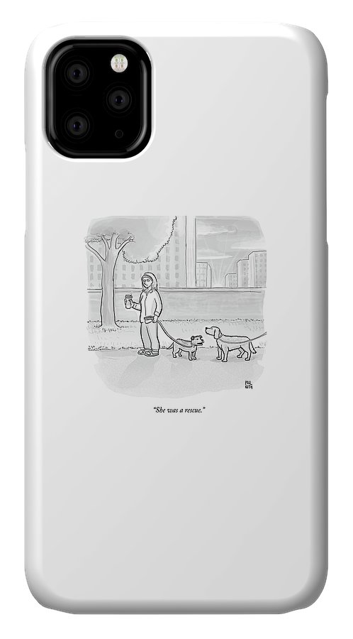 One Dog Talks To Another IPhone 11 Case