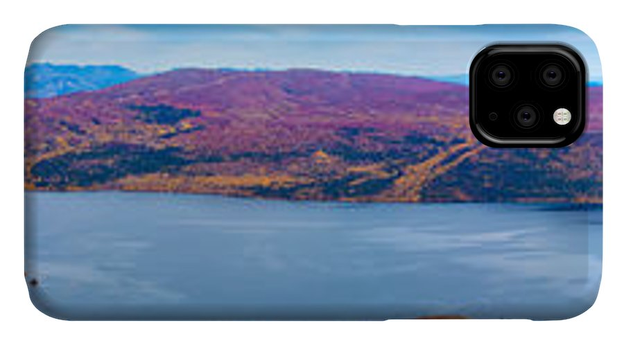 Adventure IPhone Case featuring the photograph Panorama Of Fish Lake Yukon Territory Canada by Stephan Pietzko
