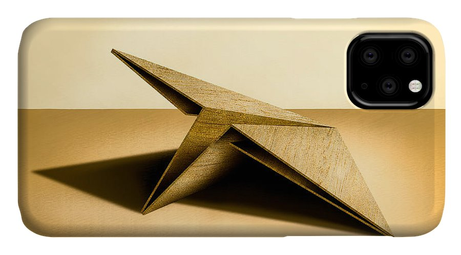 Paper Airplane IPhone Case featuring the photograph Paper Airplanes Of Wood 7 by YoPedro