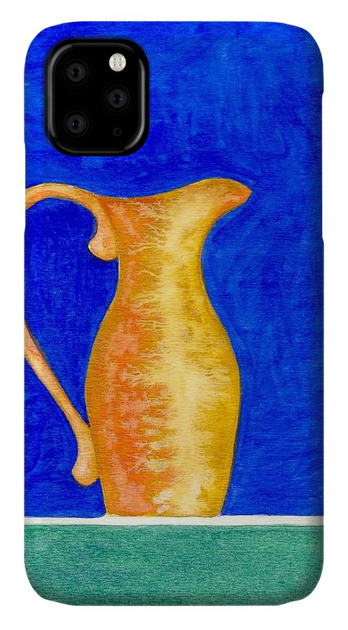 Still Life IPhone Case featuring the painting Pitcher 2 by Micah Guenther