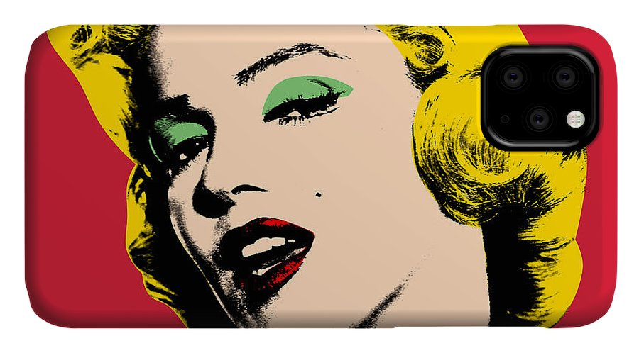 Pop Art IPhone Case featuring the painting Pop Art by Mark Ashkenazi