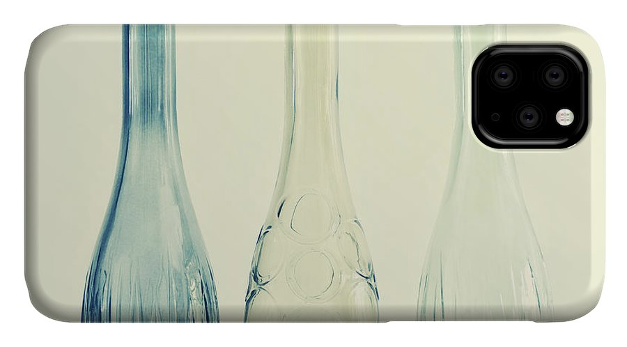 Simplicity IPhone Case featuring the photograph Powder Blue by Priska Wettstein