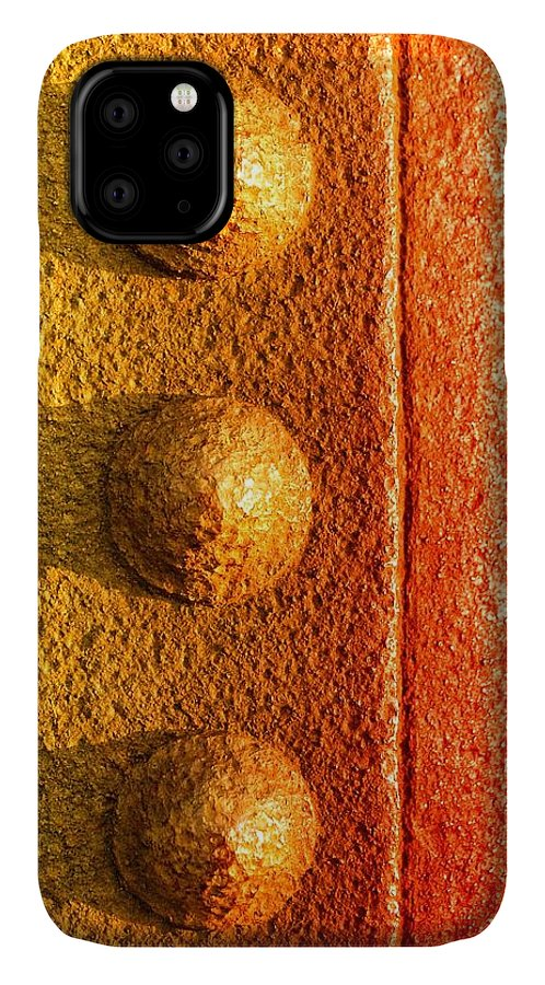 Iron IPhone Case featuring the photograph Raw Steel by Tom Druin