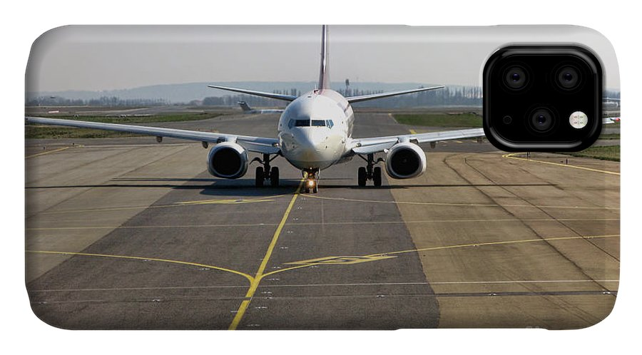 Plane IPhone Case featuring the photograph Ready For Take Off by Olivier Le Queinec