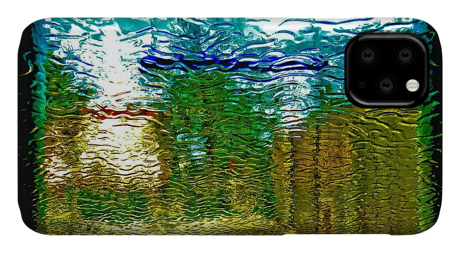 Abstract IPhone Case featuring the photograph Rippled Dreams by Dart and Suze Humeston