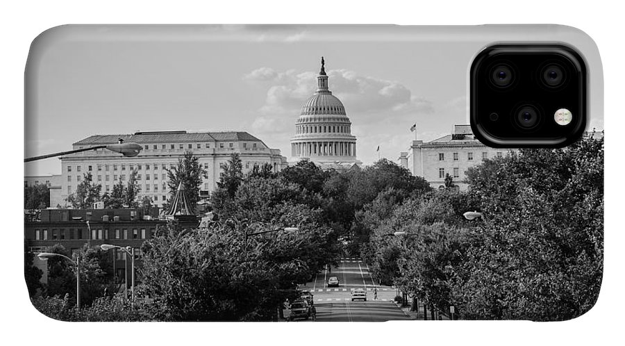 Washington D.c. IPhone Case featuring the photograph Road to the Capital by Ryan Routt