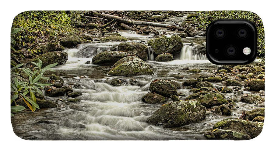 Landscape IPhone Case featuring the photograph Roaring Fork Stream by Richard Patrick