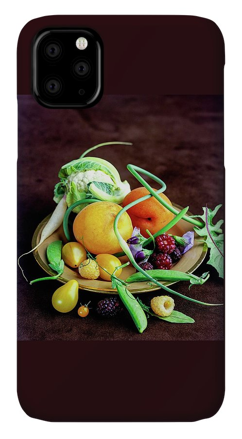 Fruits IPhone Case featuring the photograph Seasonal Fruit And Vegetables by Romulo Yanes