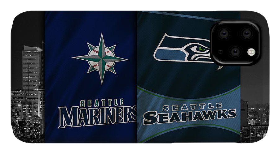 Seahawks IPhone Case featuring the photograph Seattle Sports Teams by Joe Hamilton