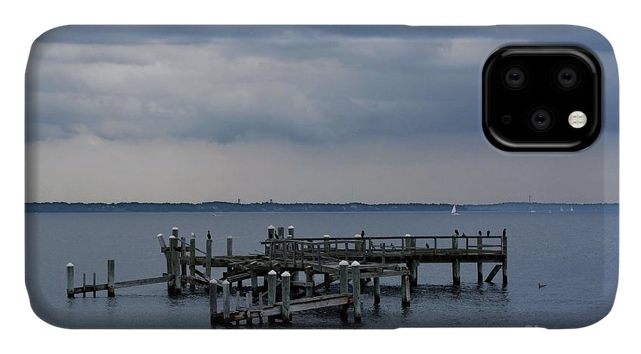 Dock IPhone Case featuring the photograph Sitting On The Dock Of The Bay by Tammie Miller