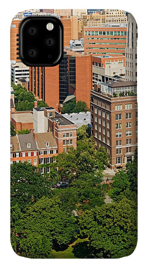 Photography IPhone 11 Case featuring the photograph Skyscrapers In A City, Washington by Panoramic Images