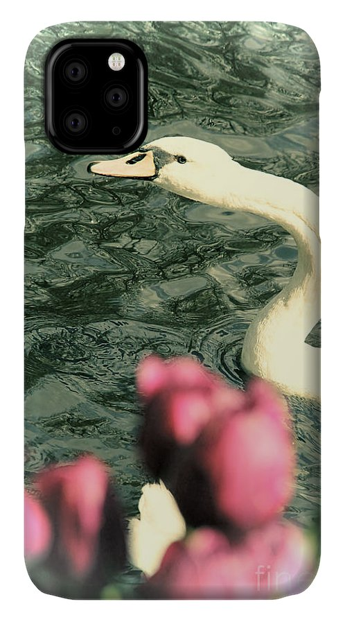 Swan IPhone Case featuring the photograph Snakelike by Jasna Buncic