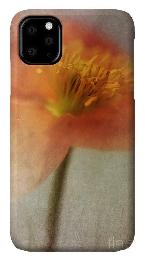 Abstraction IPhone Case featuring the photograph Soulful Poppy by Priska Wettstein