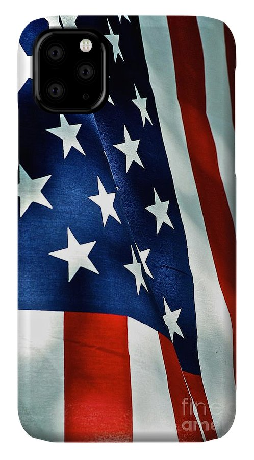 Frank J Casella IPhone Case featuring the photograph Star-spangled Banner by Frank J Casella