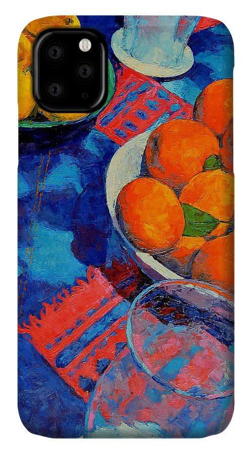 Still Life IPhone Case featuring the painting Still Life 2 by Iliyan Bozhanov