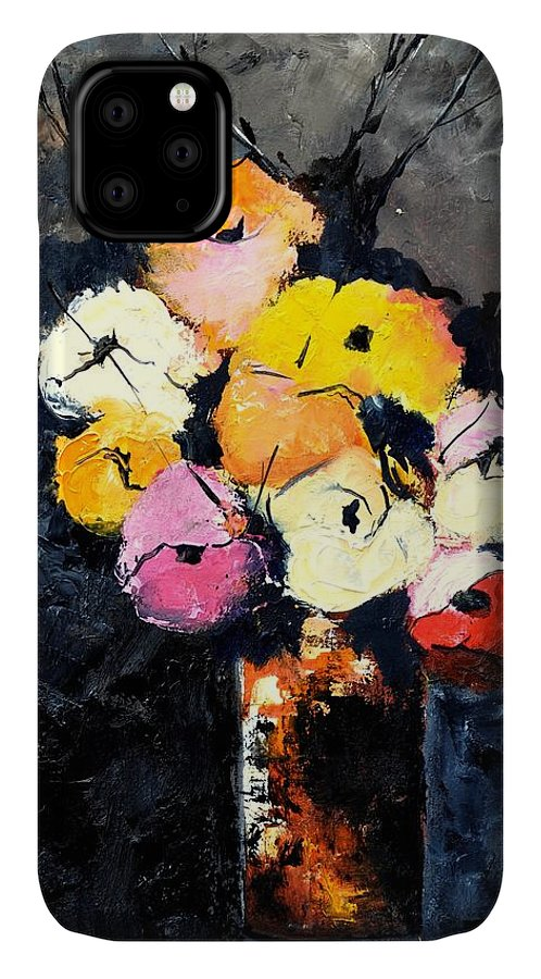 Stil Life IPhone 11 Case featuring the painting Still Life 563160 by Pol Ledent