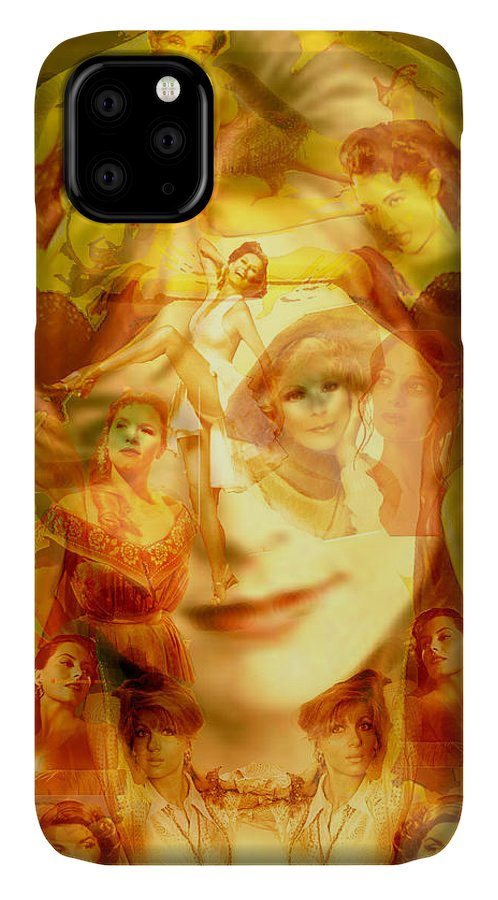 Sum Of All Desires IPhone Case featuring the digital art Sum Of All Desires by Seth Weaver