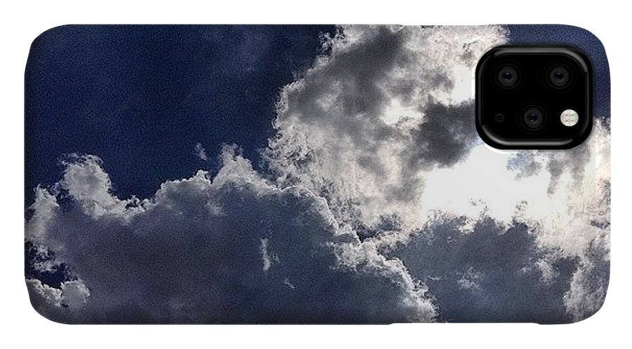 Nature IPhone 11 Case featuring the photograph Summer Sky by Nic Squirrell