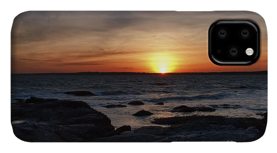 Landscape IPhone Case featuring the photograph Sunset Brenton Point by Richard Patrick