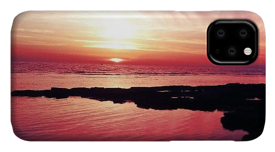 Giitaly IPhone Case featuring the photograph Sunset by Emanuela Carratoni