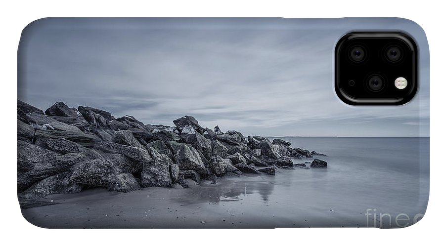 Brighton Beach IPhone 11 Case featuring the photograph Surrender To The Sea by Evelina Kremsdorf