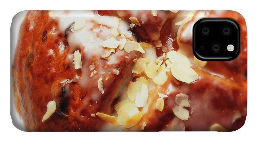 Bun IPhone 11 Case featuring the photograph Sweet bun - yummy by Matthias Hauser