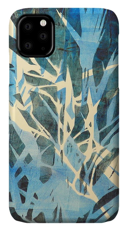Tall Grass IPhone Case featuring the painting Tall Grass 2 by Valerie Lynch