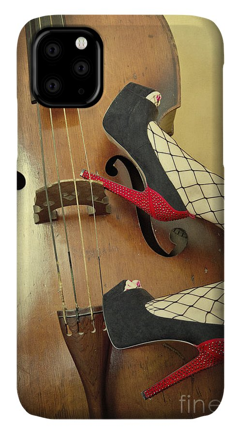 Antique IPhone Case featuring the photograph Tango For Strings by Evelina Kremsdorf
