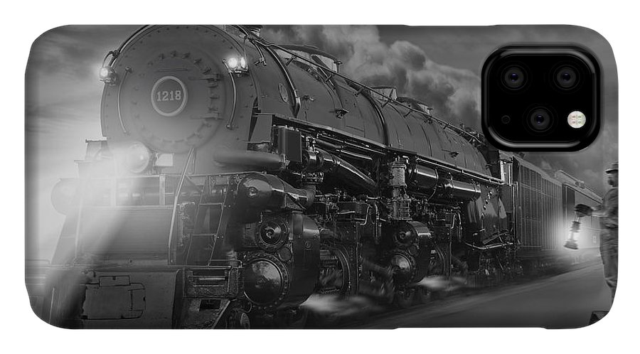 Transportation IPhone 11 Case featuring the photograph The 1218 On The Move 2 by Mike McGlothlen