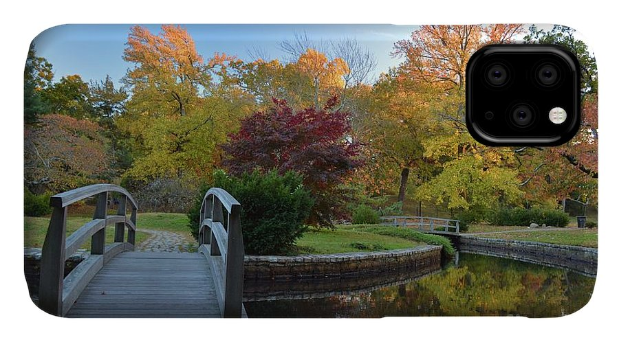 Nature IPhone Case featuring the photograph The Bridge To Autumn by Tammie Miller