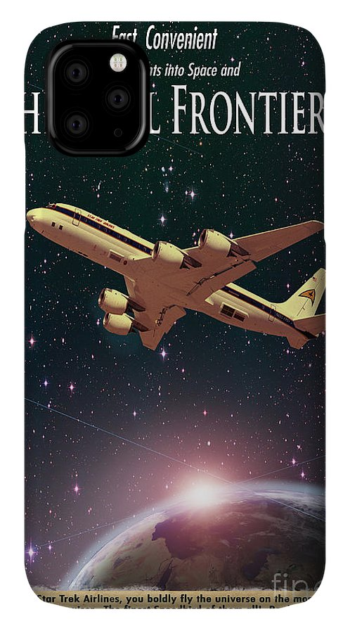 Advertisement IPhone Case featuring the photograph The Final Frontier by Juli Scalzi
