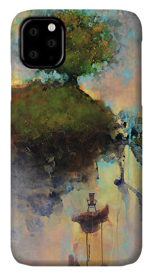 Joshua Smith IPhone Case featuring the painting The Hiding Place by Joshua Smith