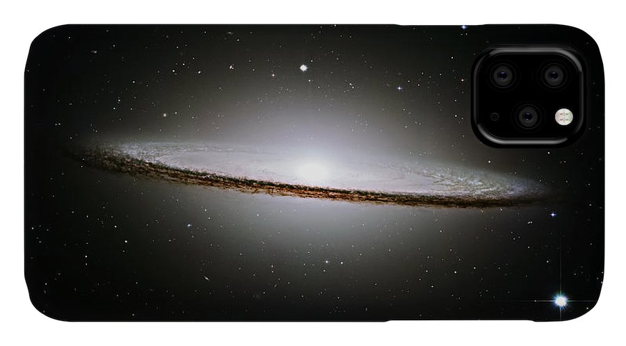 M104 IPhone Case featuring the photograph The Majestic Sombrero Galaxy by Ricky Barnard