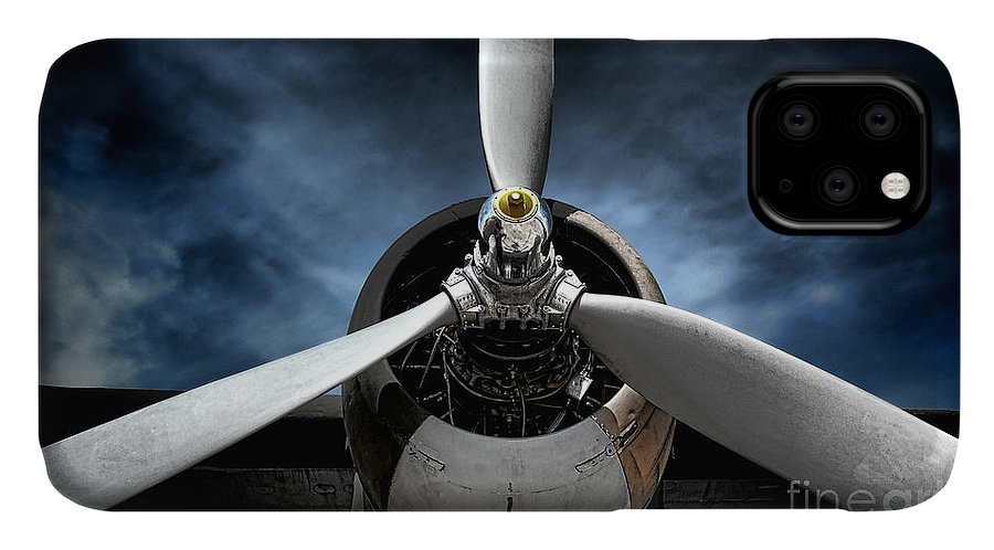 Plane IPhone Case featuring the photograph The Mission by Olivier Le Queinec