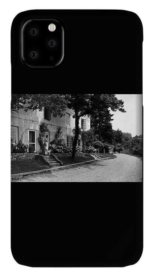 The Platt's House In New Jersey IPhone Case