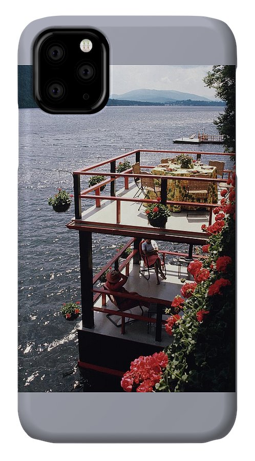 Home IPhone Case featuring the photograph The Wyker's Deck by Ernst Beadle