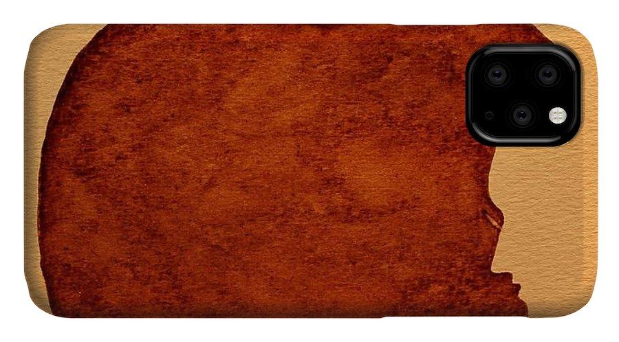 Steve Jobs Tribut Paintings Paintings IPhone Case featuring the painting Think Different Steve Jobs 3 by Georgeta Blanaru